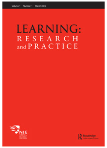 Learning research & practice cover